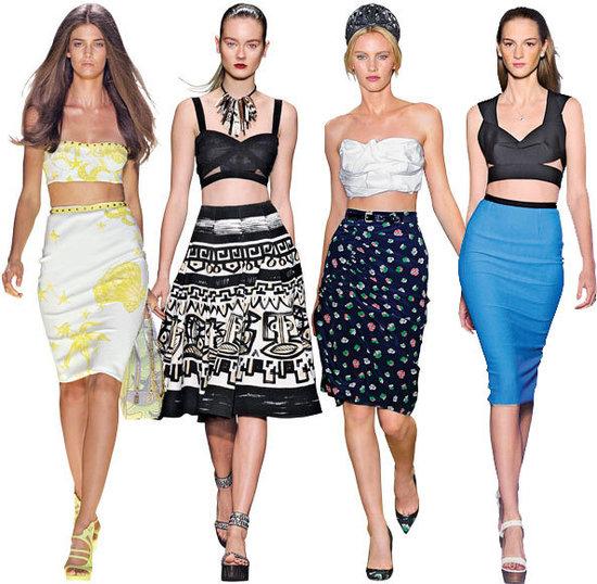 2012春夏女装7大流行新风格