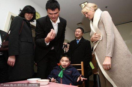 Yao Ming And Jet Li | www.imgkid.com - The Image Kid Has It!