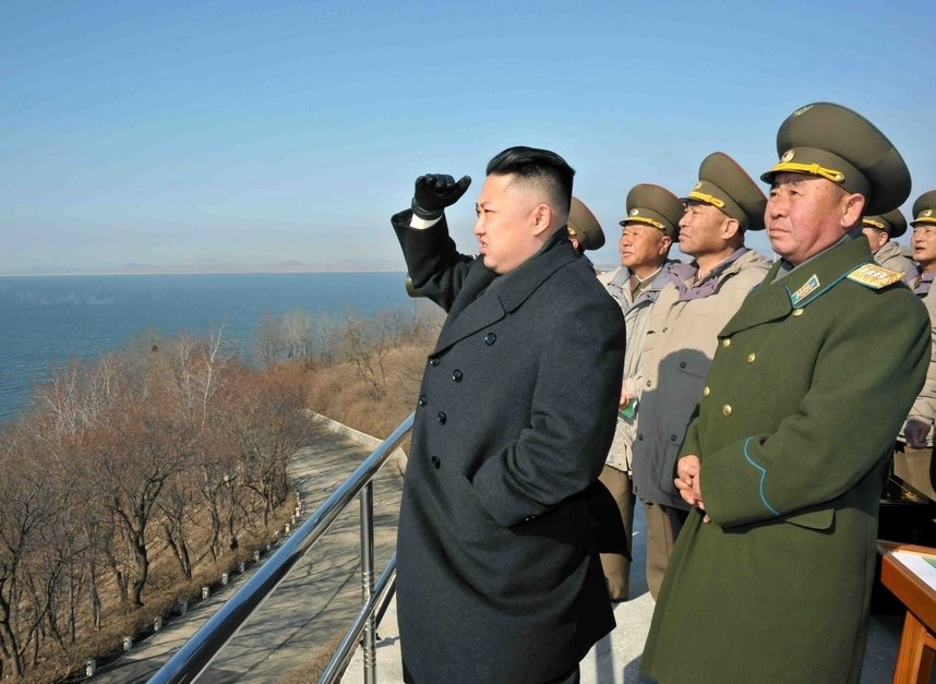 高清:外国记者拍摄朝鲜乡村风景