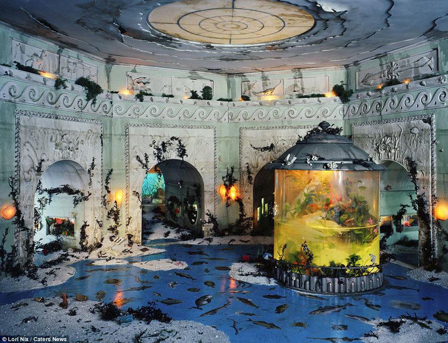 """艺术家模型展示震撼""""世界末日景象""""(组图) - 科学探索 - 科学探索"""