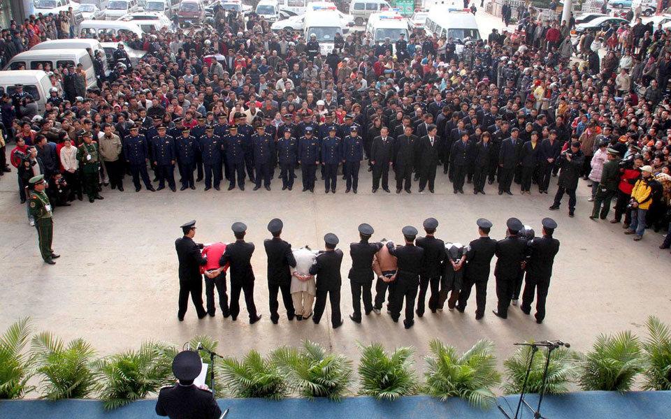 阆中等地进行了公审公判.   2009年3月26日,湖南省郴州召开公捕公图片