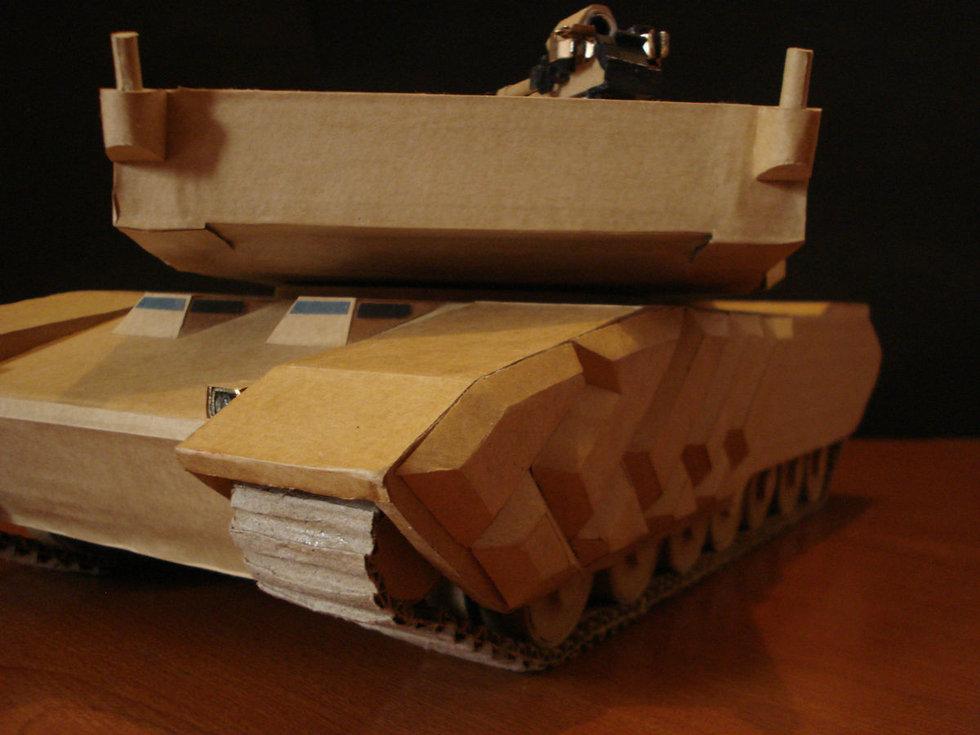 用纸盒做手工制作家具