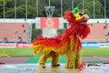 舞狮亮相日本亚冠赛场