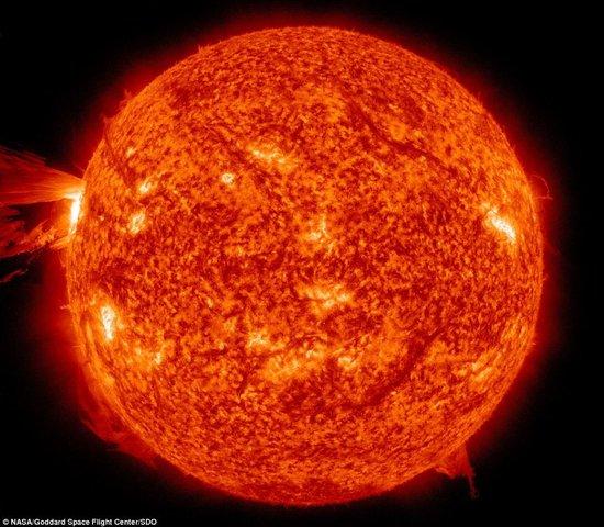 NASA发布令人惊叹的最壮观太阳耀 ...