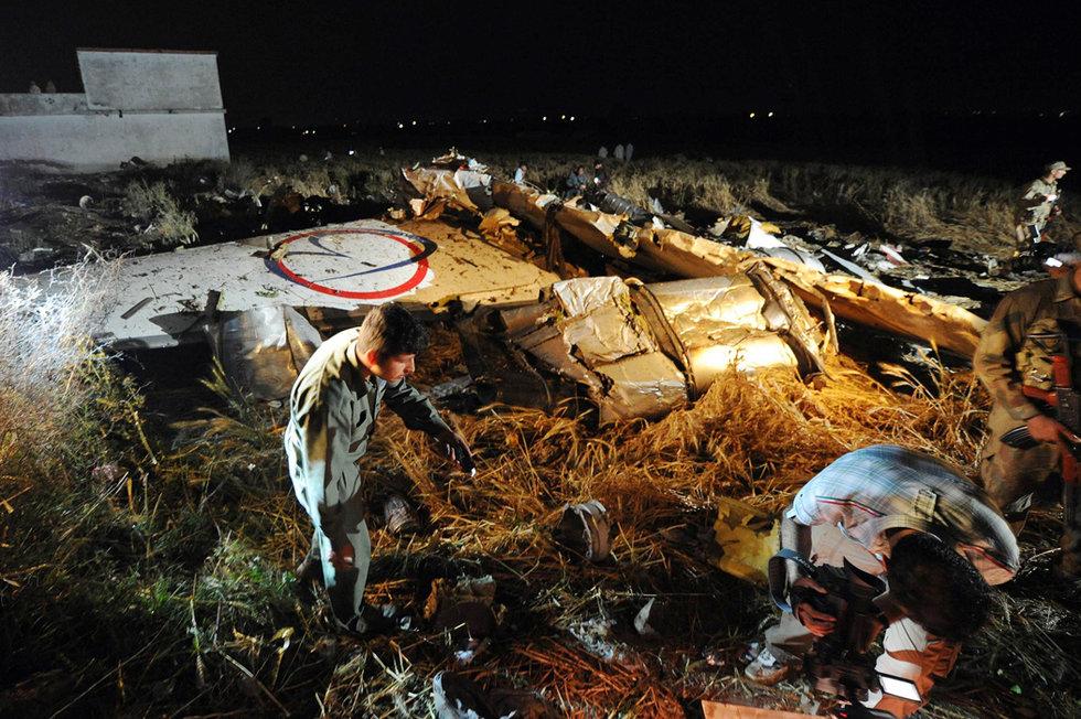 巴基斯坦飞机坠毁