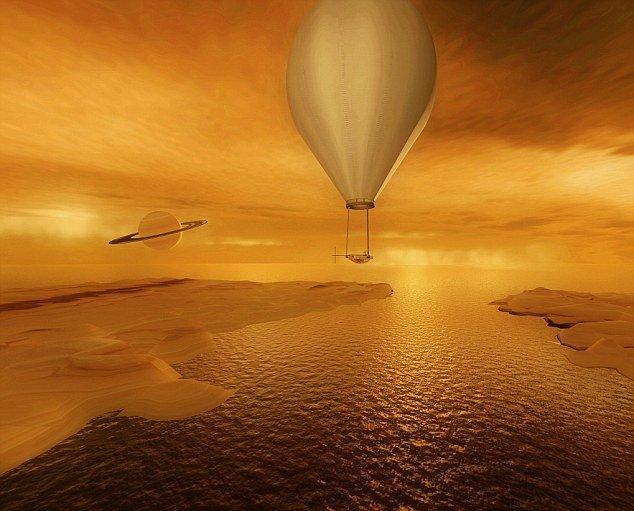 NASA计划启航土卫六 发射探测船 ...