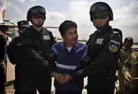 组图:湄公河惨案主犯糯康押送移交中方全程