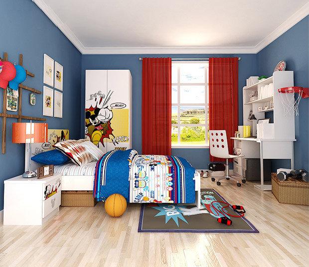 迪士尼儿童家具套房女生卧室家具组合套装