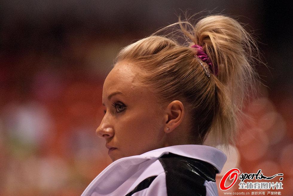 高清:美国体操精英赛+清纯美女性感上阵