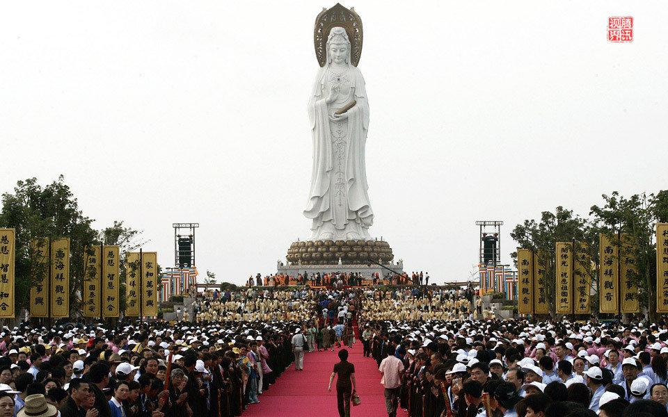邓资路线的丰功伟绩:权贵声势浩大的造佛运动 - 坚必成 - 坚必成的博客