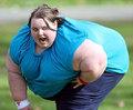 令人无法想象的胖人