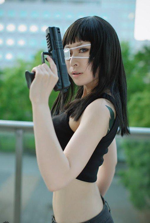 VOL.日漫《军火女王》法尔梅COS图 - 樱田优姬 - 二次元会馆