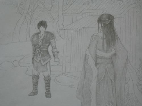 高手在民间 玩家手绘仙剑奇侠传人物图赏_游戏_腾讯网