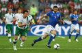 意大利队对阵爱尔兰队