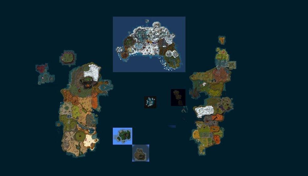 真实的魔兽世界:谷歌地图展示艾泽拉斯大陆