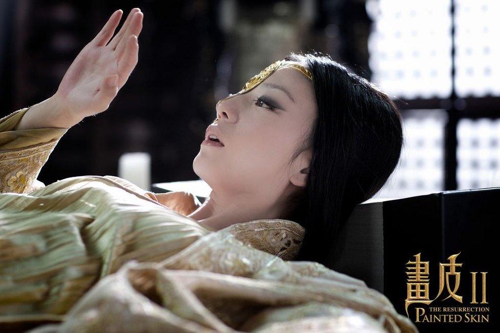 赵薇为《画皮Ⅱ》疯狂减肥 靖公主只有94斤 半