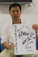 知名漫画家权迎升与设计师罗嘉做客腾讯演播室漫画真人视频a漫画图片