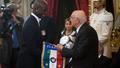 总统接见意大利国家队
