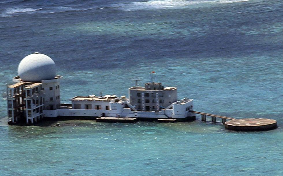 高清:菲律宾称中国将在南沙渚碧礁建机场