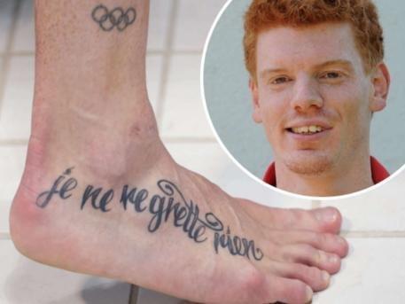 组图:信仰or纪念 运动员奇特纹身细节揭秘
