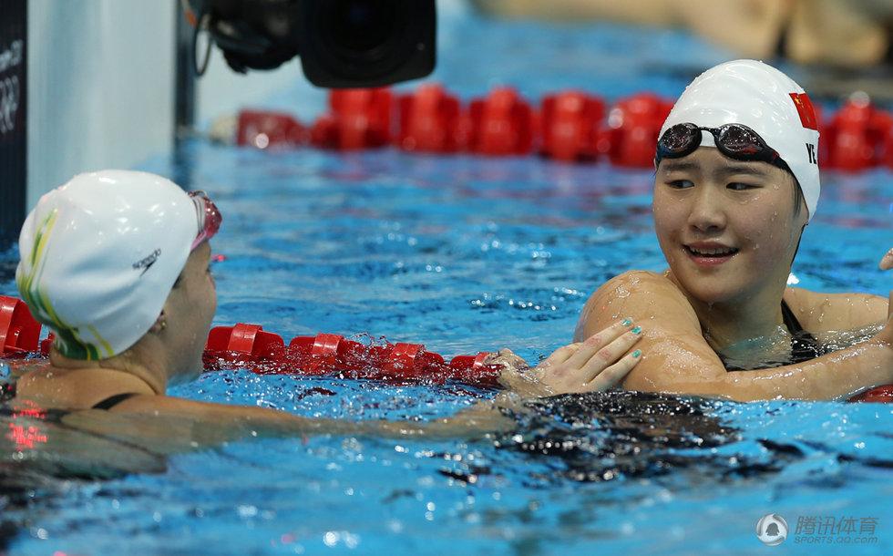 高清 200m混合泳叶诗文夺金 再创奥运会纪录