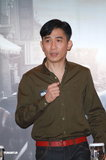 高清:《听风者》香港宣传 梁朝伟自曝患老花眼