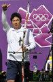 高清:韩国选手吴真爀射箭男子个人夺冠