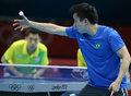 高清:乒乓球男团第一轮 中国香港3-0胜巴西