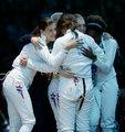 女重团体1/4决赛美国胜