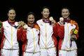 女重团体中国夺冠