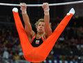 高清:荷兰飞人体操单杠夺冠