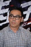 《消失的子弹》上海首映 刘青云被指酷似柯南
