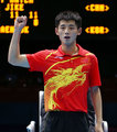 高清:乒球男团决赛 中国队力克韩国成功卫冕