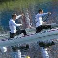 高清:男子双人划艇1000米 德国队选手夺冠