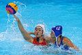 高清:女子水球中国加时1球险胜俄罗斯获第五
