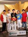 高清:男乒团体做客腾讯 笑谈冠军背后的故事