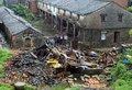 高清:临海独居老人转移10分钟后房屋倒塌