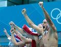 高清:男子水球半决赛 克罗地亚7-5胜黑山