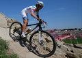 高清:女子山地车越野赛决赛 法国选手夺冠