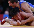 高清:摔跤男子自由式60KG 俄选手晋级决赛