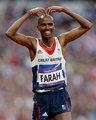"""高清:男子5000m英国选手夺冠比可爱""""心形"""""""