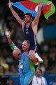 高清:摔跤男子自由式84KG 阿塞拜疆选手夺冠