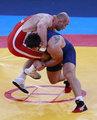 高清:摔跤男子自由式120KG 乌兹别克斯坦胜