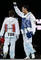 高清:跆拳道+80KG级刘哮波险胜 复活赛获铜牌