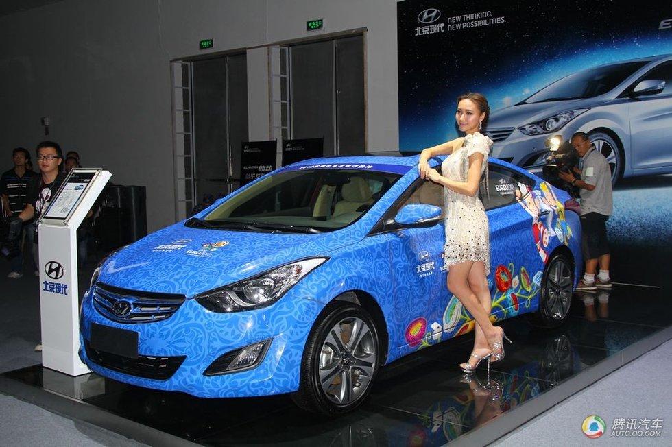 高清组图:北京现代朗动上市现场新车实拍