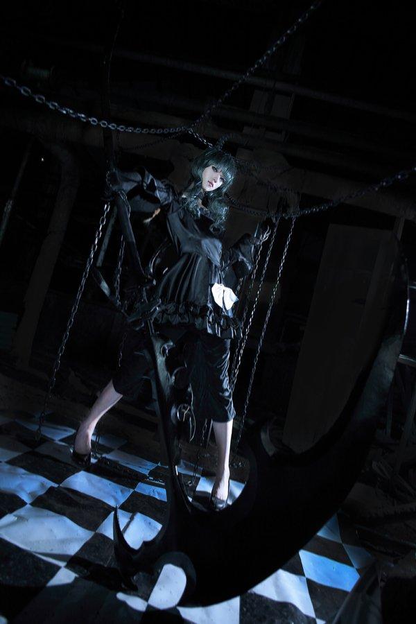 VOL.黑色的华丽 伪娘超赞COS黑岩射手 - 樱田优姬 - 二次元会馆