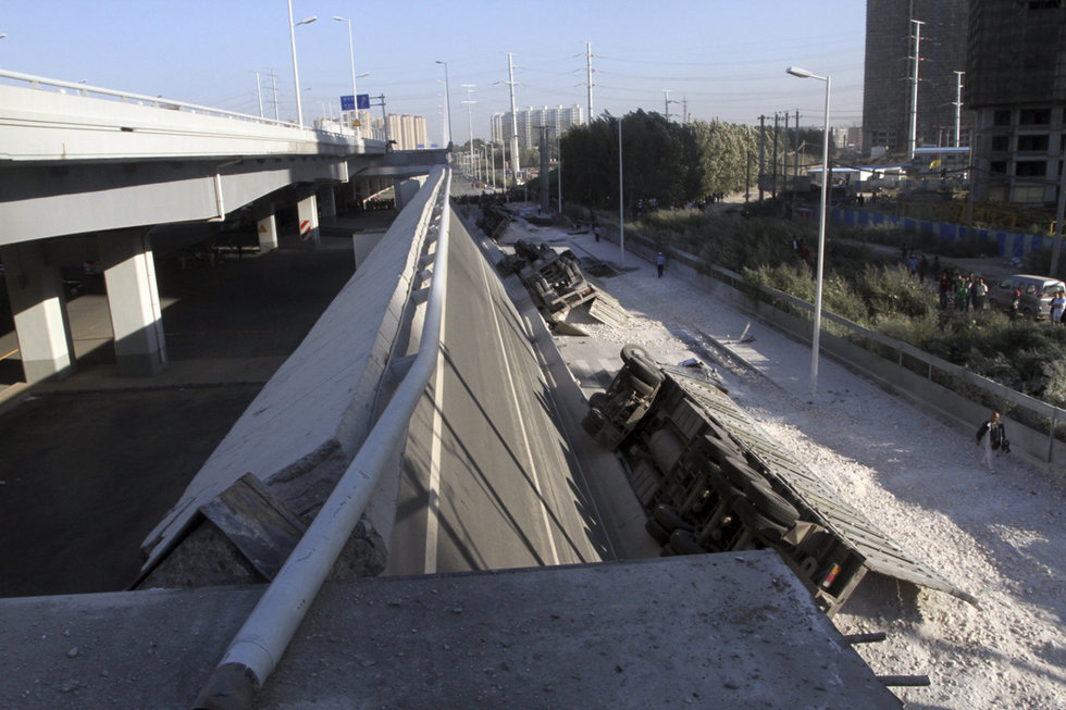哈尔滨阳明滩大桥引桥坍塌 多人死伤 - 陈成州 - 冬天手脚指皮肤爆裂冰冷怎办