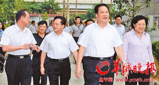 广州否认前市委书记张广宁自杀