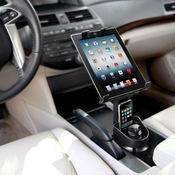 车载iPhone、iPad联合支架