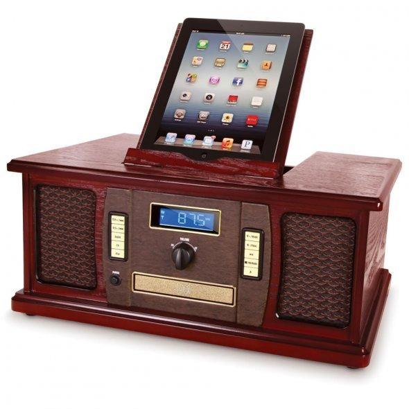 复古款的iPad音乐播放机